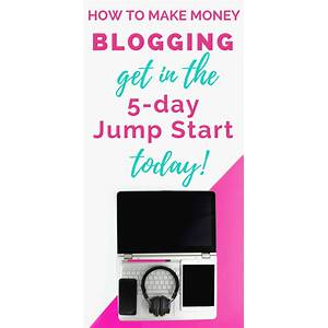 Learn how to start a money making blog coupon code