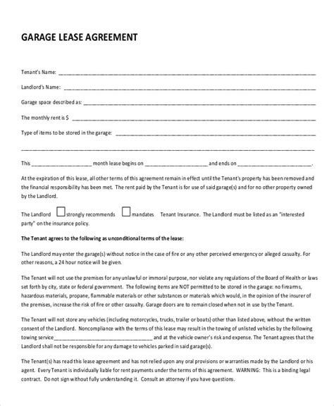 Lease Agreement For Garage Rental Make Your Own Beautiful  HD Wallpapers, Images Over 1000+ [ralydesign.ml]