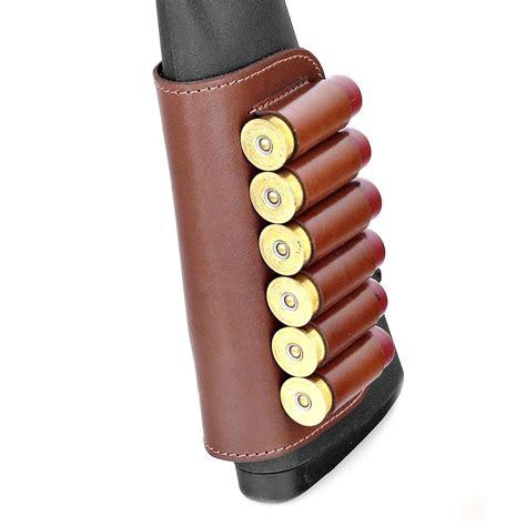 Leather 12 Gauge Shotgun Shell Holder
