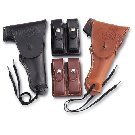 Leather 1911 Double Magazine Pouch