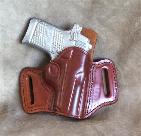 Leather Cross Draw Holster For Sig Sauer P938