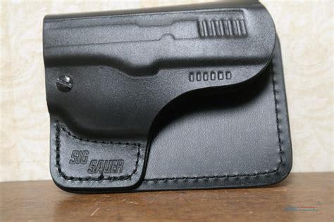 Leather Pocket Holster For Sig P365