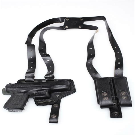 Leather Shoulder Holster For Glock 23 Gen3