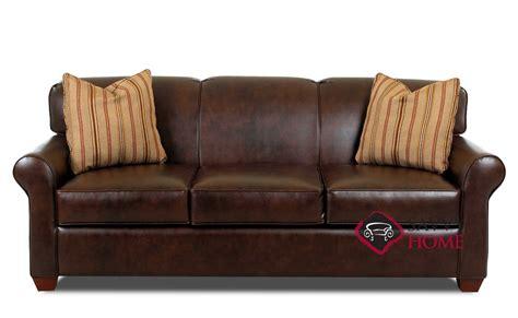 Leather Sleeper Sofa Queen