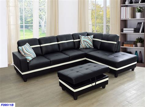Leather Sofa Set L Shape