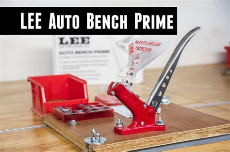 Lee Auto Bench Prime - Precision Reloading