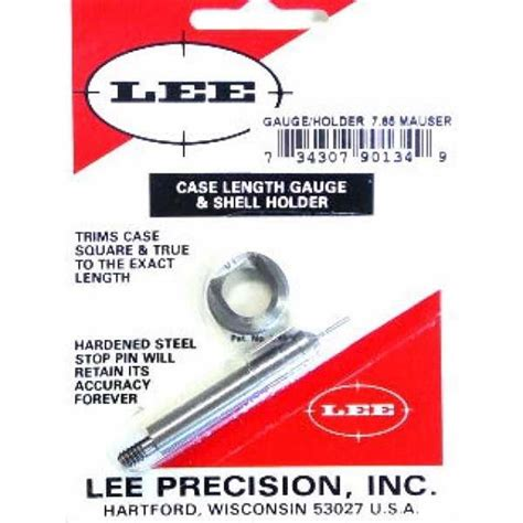 Lee Precision Case Length Gauges Lee Length Gauge Shellholder 223 Rem