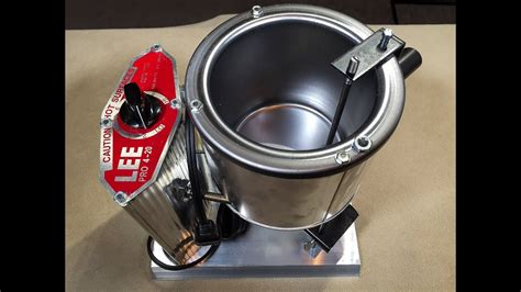Lee Precision How To Stop A Dripping Pro Pot 4-20 Furnace Melter