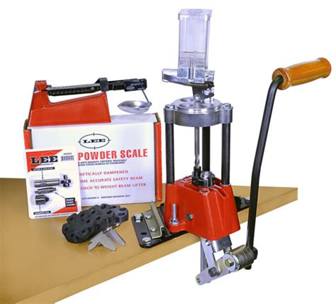 Lee Precision Value 4 Hole Turret Press Kit EBay