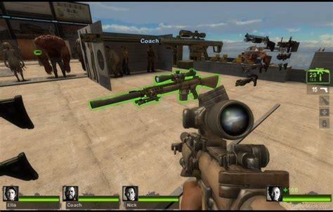 Left 4 Dead 2 Sniper Rifle Reanimated