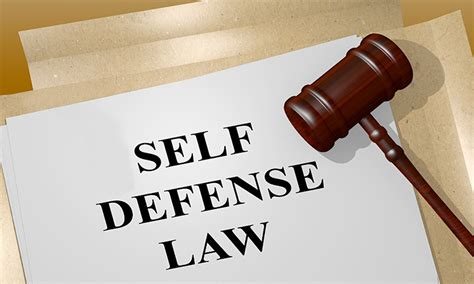 Legal Reasons To Use Self Defense