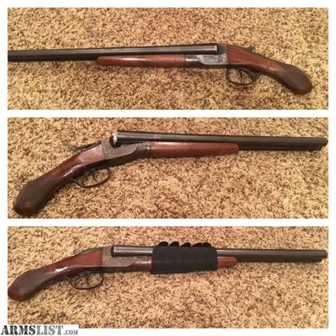 Legal Sawed Off Double Barrel Shotgun