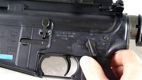 Legally Transferable Full Auto Colt M4 Commando Enhanced 4-position