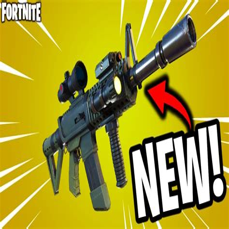 Legendary Thermal Scoped Assault Rifle