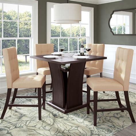 Leger 5 Piece Counter Height Dining Set