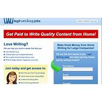 Legit writing jobs instruction