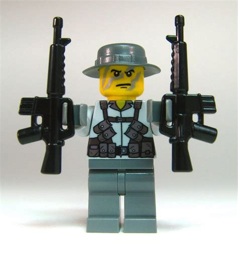 Lego Assault Rifle For Minifigs