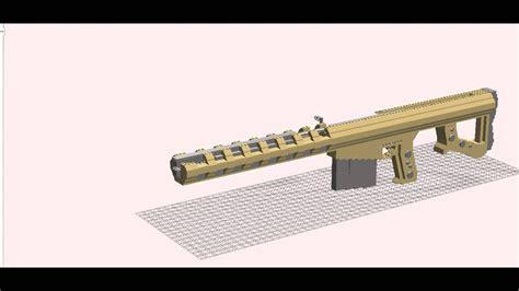 Lego Barrett 50 Cal Sniper Rifle
