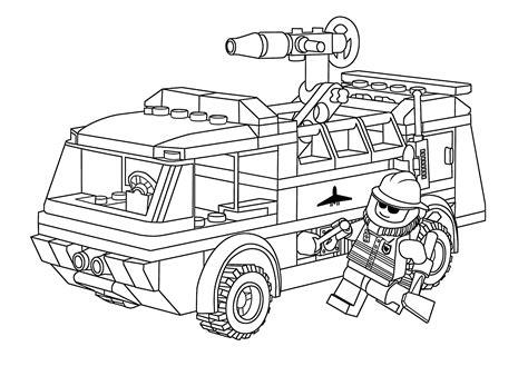 Lego City Polizei Malvorlagen
