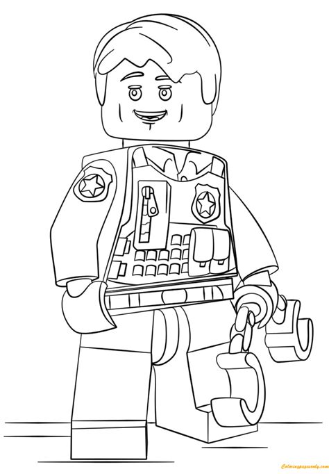 Lego City Undercover Malvorlagen