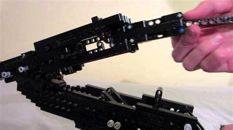 Lego Double Barrel Shotgun Working