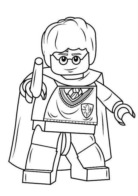 Lego Harry Potter Malvorlagen