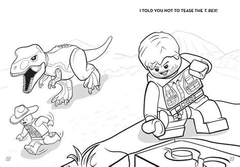 Lego Jurassic World Ausmalbilder