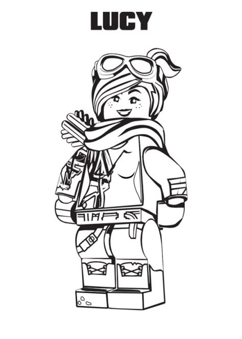 Lego Movie Malvorlagen