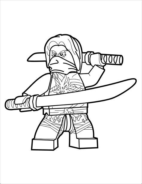 Lego Ninjago Ausmalbilder Morro