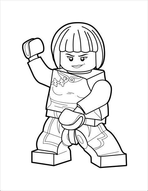 Lego Ninjago Ausmalbilder Nya