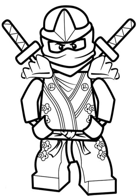 Lego Ninjago Ausmalbilder Pdf