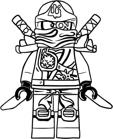Lego Ninjago Ausmalbilder Zane