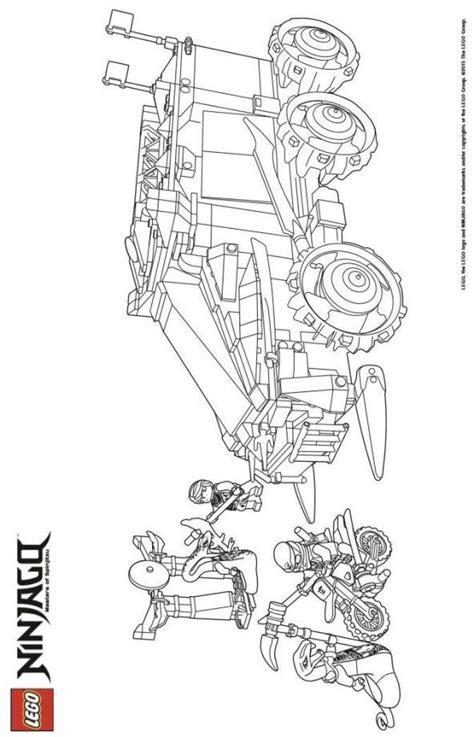 Lego Ninjago City Ausmalbilder