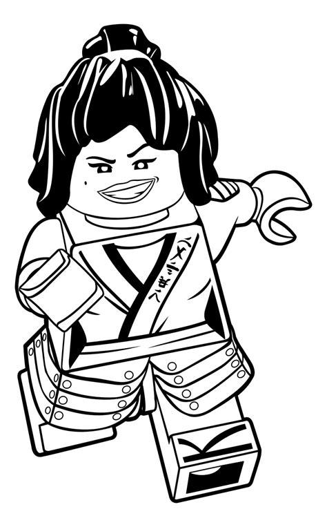 Lego Ninjago Movie Malvorlagen