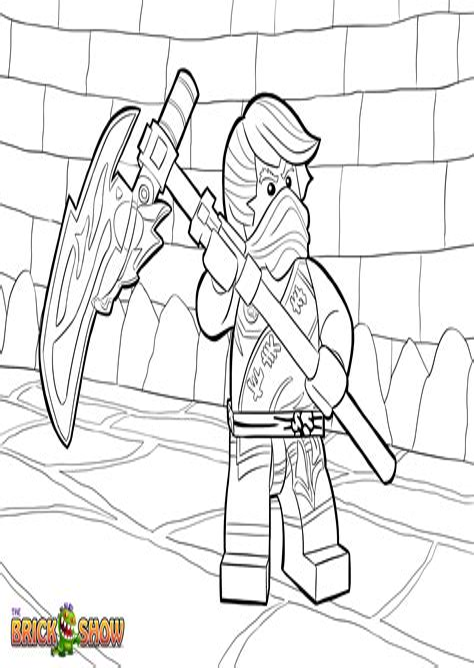 Lego Ninjago Nadakhan Ausmalbilder