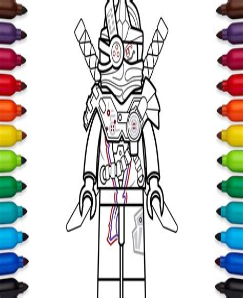 Lego Ninjago Nindroid Ausmalbilder