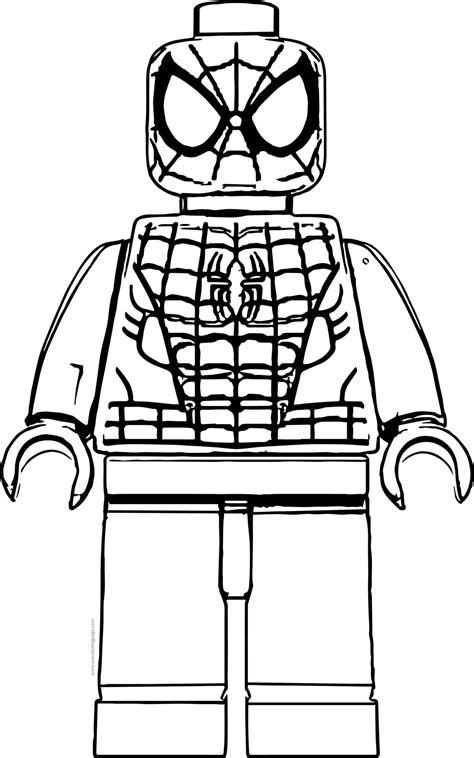 Lego Spiderman Malvorlage