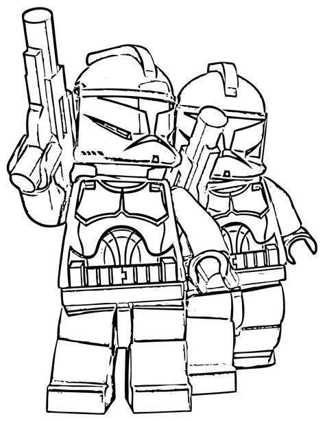 Lego Star Wars Malvorlagen