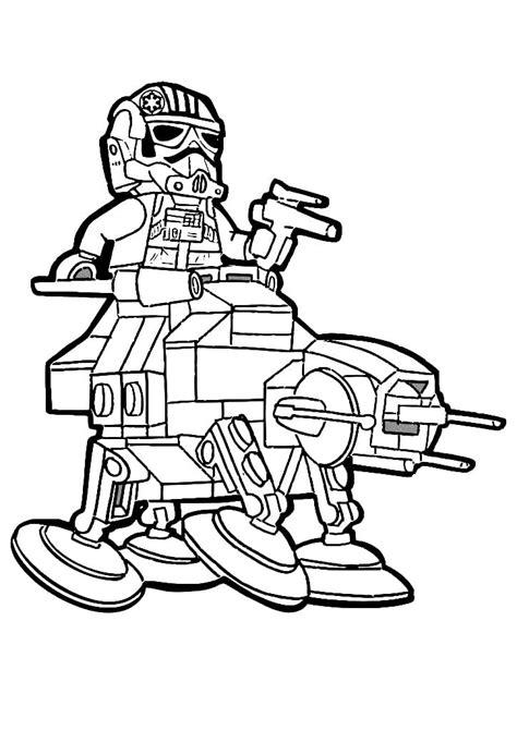 Lego Star Wars Malvorlagen Gratis