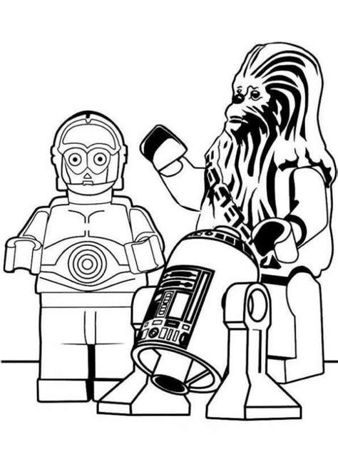 Lego Star Wars Malvorlagen Zum Ausdrucken