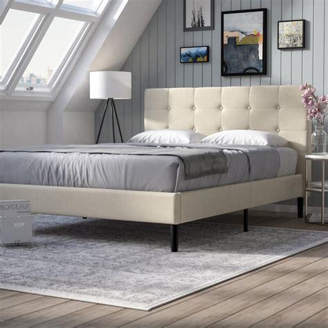 Leonard Upholstered Platform Bed