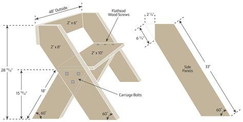 Leopold bench plans Image