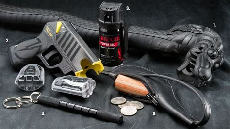 Less Lethal Self Defense Weapons