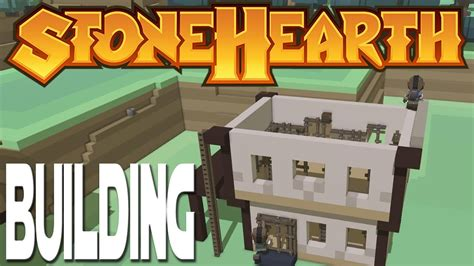 lets play stonehearth ep 3 building a carpenter shop Image