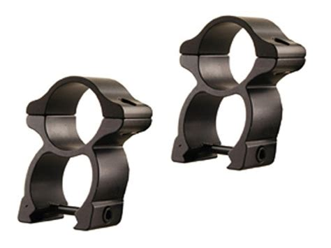 Leupold 1 Detachable Rifleman Seethru Rings Weaverstyle