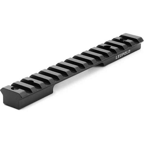 Leupold Backcountry Crossslot Remington 700 Long Action 1pc Rifle Base Remington 700 Long Action 1pc Base 20 Moa