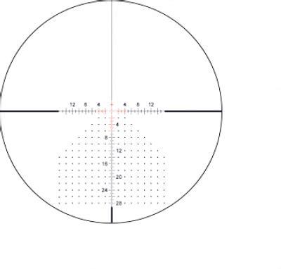 Leupold Impact 29 Reticle