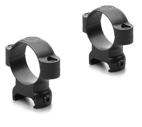 Leupold LRW Rings 1 Medium Scope Rings Matte Black