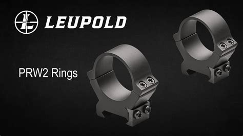 Leupold NEW PRW2 QRW2 Rings