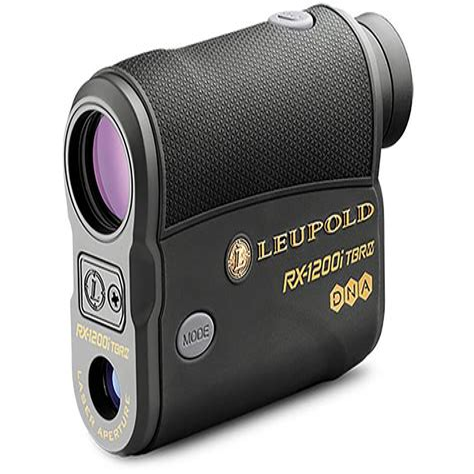 Leupold Rx1600i Tbr Rangefinder With Dna Laser Oled Selectable Rx1600i Tbr Rangefinder With Dna Laser Blackgray